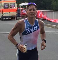 Sidney beim Triathlon Roth 2016